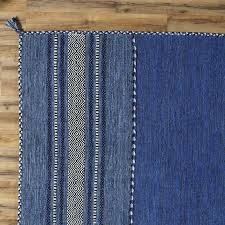 Blue Area Rugs Birch Fogarty Woven Blue Area Rug Reviews Birch