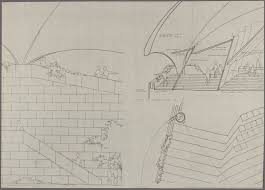 house drawings sydney opera house utzon drawings state records nsw