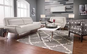 roxy leather look fabric studio size sofa beige the brick