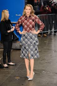 best looks blake lively louboutin pumps and blake lively