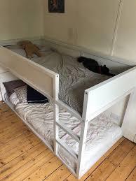 ikea kura reversible children u0027s bed bunk bed w mattresses in
