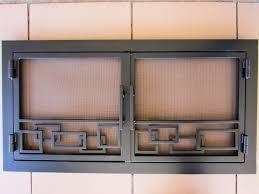 modern fireplace doors plan ideas latest door u0026 stair design