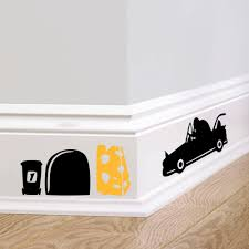Home Design For Wedding by Aliexpress Com Buy Funny Mouse Hole Car Home Decal Wall Sticker