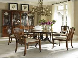round kitchen table and chairs for 6 classic wooden round dining table design 5 chairs with mirror and
