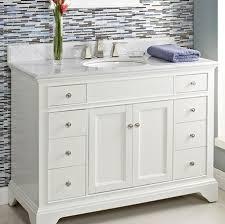 Bathroom White Single Sink Vanities With In  Inch Del - White single sink bathroom vanity