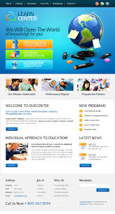 free webpage templates html free website template learning center