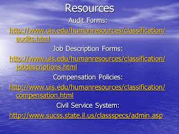 Desk Audit Definition Civil Service Classification Overview Job Descriptions And Job