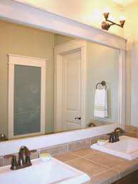 bathroom top how to frame bathroom mirror design ideas fancy at