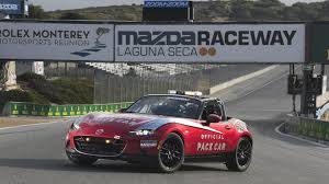 mazda germany mazda renews affiliation with laguna seca raceway the drive