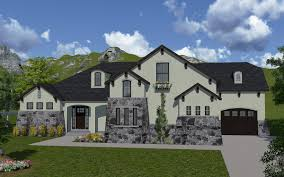 What Is A Rambler Style Home Cecina House Plan Rambler Tuscan Style House Plan Walker Home