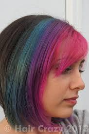 Deep Purple Color Multi Coloured Hair Photos Haircrazy Com