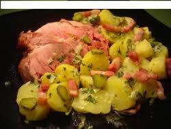 cuisiner palette de porc palette de porc aux pommes de terre