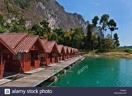 khao sok floating bungalows stock photos u0026 khao sok floating