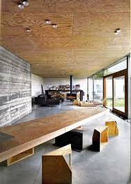 juliaan lens house velghe vanderlinden plywood ceiling and