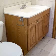 Spray Paint Bathroom Vanity Wooden Painting Bathroom Vanity Before And After U2014 Jessica Color