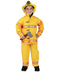jr firefighter suit with helmet costume kids costume fire