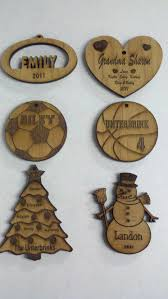 personalize ornaments with laser engraving