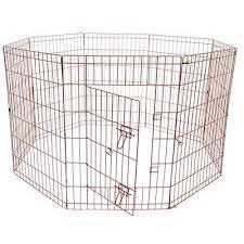 aleko sdk 42b dog playpen pet kennel pen exercise cage fence 8