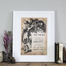 alice in wonderland gifts notonthehighstreet com