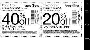 coupons for stein mart android apps on google play