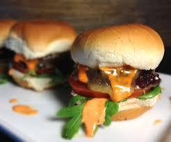sriracha mayo vegan beet lentil u0026 rice burger sliders with arugula sriracha