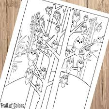 free printable owl coloring pages freebies pinterest owl