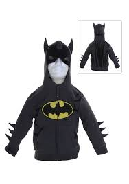 Boys Batman Halloween Costume Toddler Grey Batman Costume Hoodie Halloween Costumes