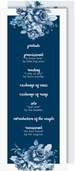 tea length wedding program shop tea length wedding programs magnetstreet