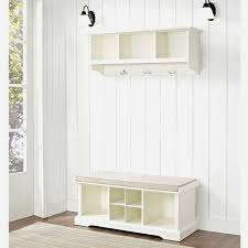 storage bench with coat rack ikea entryway furniture ideas