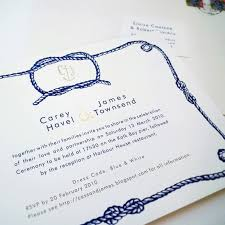 wedding invitations knot tying the knot literally table 6 productions wedding and