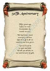 50th wedding anniversary poems wedding anniversary poems