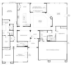 single story house floor plans malaga home luxury one plan