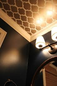 Powder Room Makeovers Photos - looking up melissa u0027s powder room makeover hooked on houses