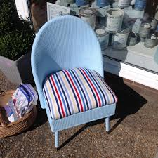 gorgeous lloyd loom style chair in autentico chalk paint iceland
