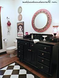 Black Vanity Black Vanity Makeover Redhead Can Decorate