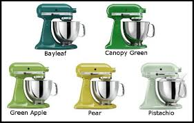 kitchenaid mixer colors compare the shades of green kitchenaid mixers to find one others