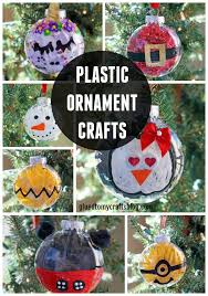 10 fabulous and easy plastic ornament crafts glued to my