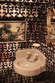 Wallpaper Bathroom Ideas 56 Best Powder Room Images On Pinterest Room Bathroom Ideas And