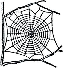 spider web template for writing free clip art graphics fairy
