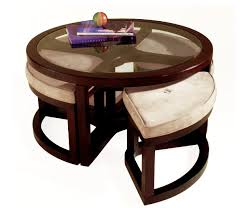 table with stools underneath amazing round coffee table with stools underneath coffee table