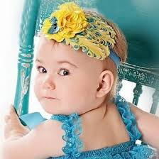 big flower headbands baby girl headbands