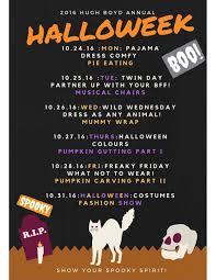 halloween spirit halloween spirit week hugh boyd secondary