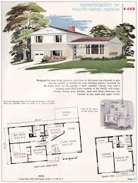 split level house with front porch house plan 1955 split level house plans luxihome split level