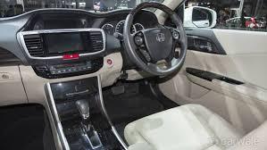 Honda Accord Interior India Interior Image Honda Accord Photo Carwale