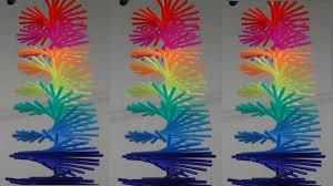 hiasan gantung spiral bisa berputar kerajinan tangan dari