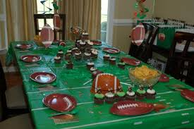 football party decorations nfl football table decorations photograph football birthda