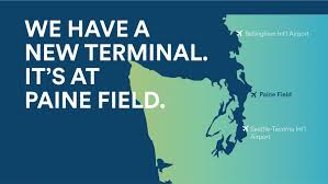 Seattle Airport Terminal Map Alaska Airlines To Start Serving A Second Seattle Airport No