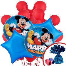 mickey mouse birthday party supplies birthdayexpress com disney mickey mouse balloon bouquet