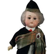 Scottish Halloween Costume Antique Max Oscar Arnold Welsh 200 12