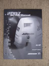 100 service manual for mercury 2007 models 25hp mercury